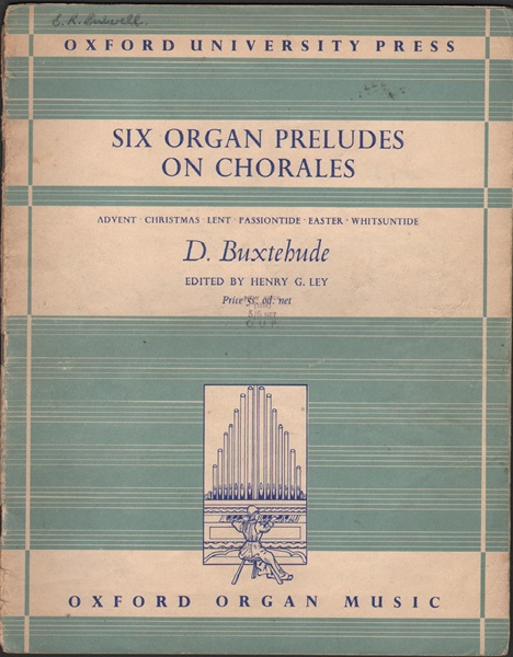 Six organ preludes on chorales -  Organ