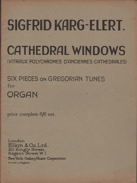 Cathedral Windows - Organ