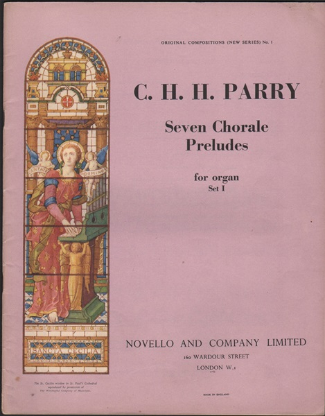 Seven Chorale Preludes for Organ