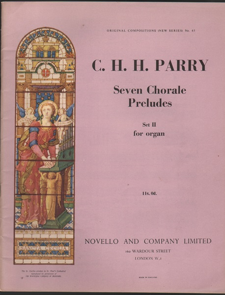 Seven Chorale Preludes - Set 2, for Organ