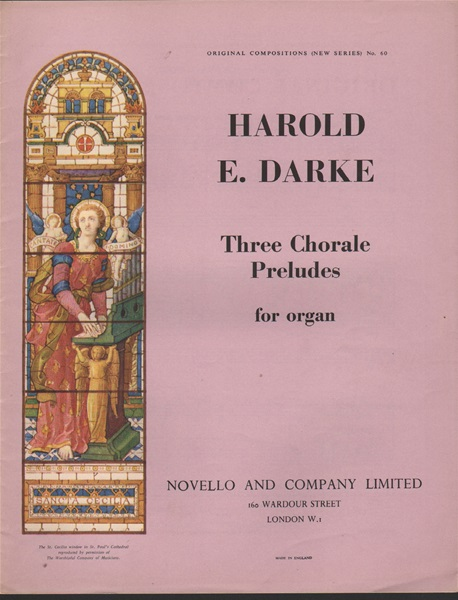 Three Chorale Preludes for Organ