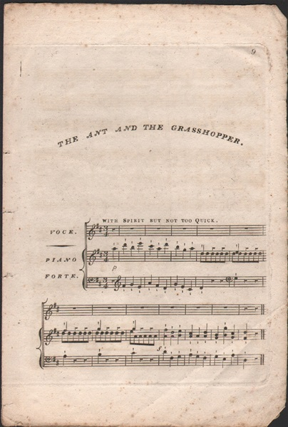 The Ant and the Grasshopper - song