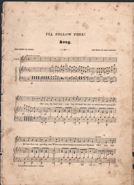 I'll follow thee - song