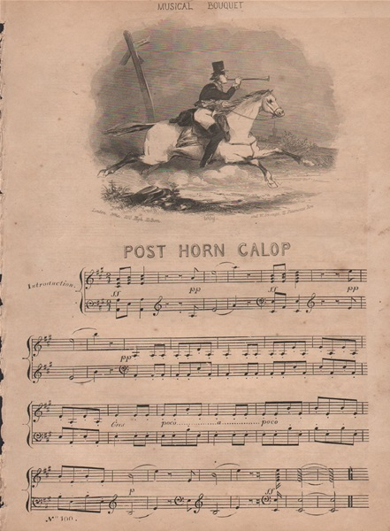 The Post Horn Galop & The Anna Maria Galop