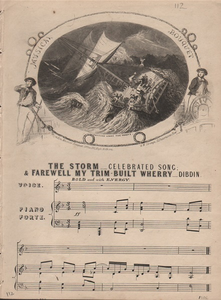 The Storm & Farewell my trim-built Wherry - songs