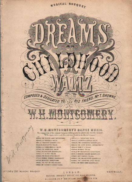 Dreams of Childhood Waltz - piano