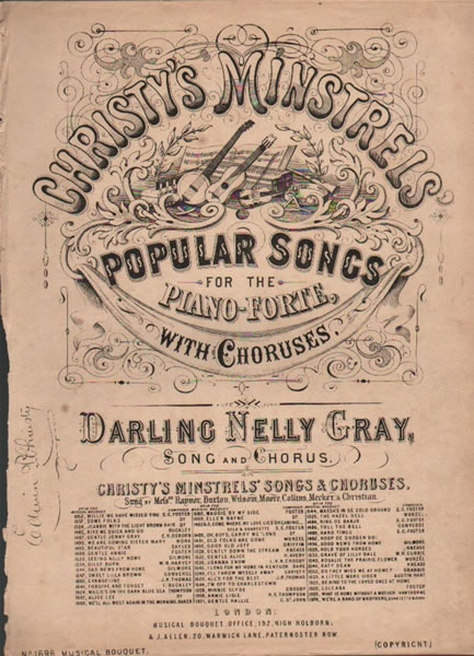 Darling Nelly Gray - song and chorus