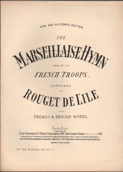 The Marseillaise Hymn