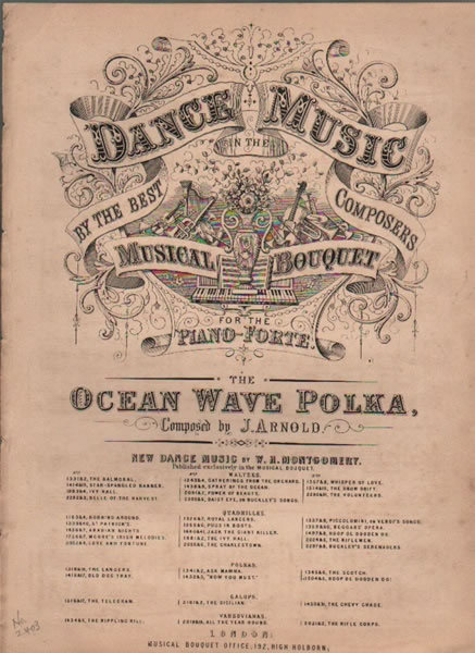 The Ocean Wave Polka - pf.