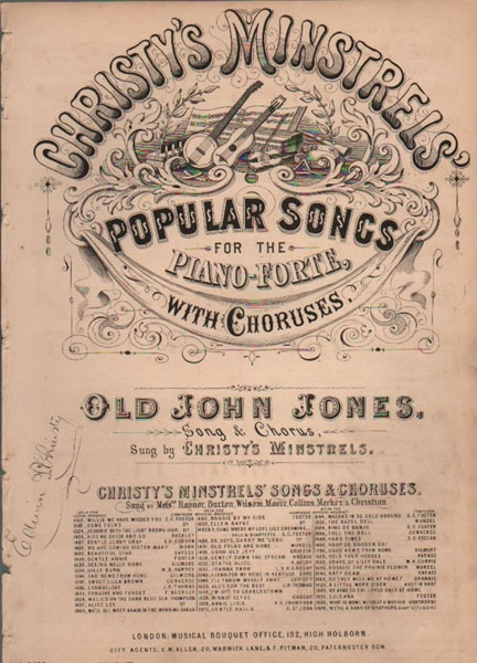 Old John Jones - song & chorus