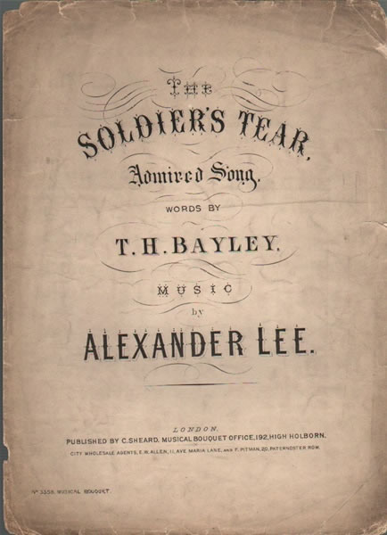 The Soldier's Tear - Song