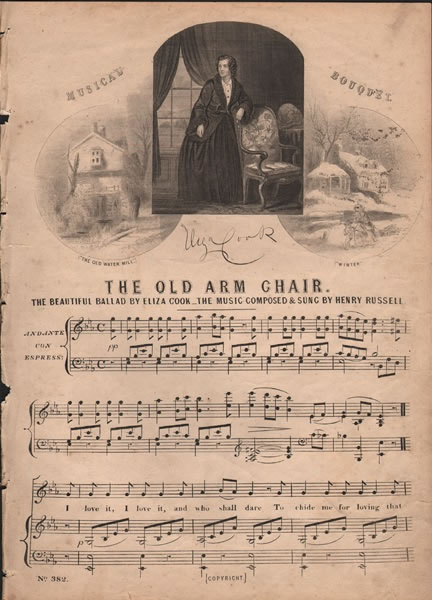 The Old Arm Chair - ballad
