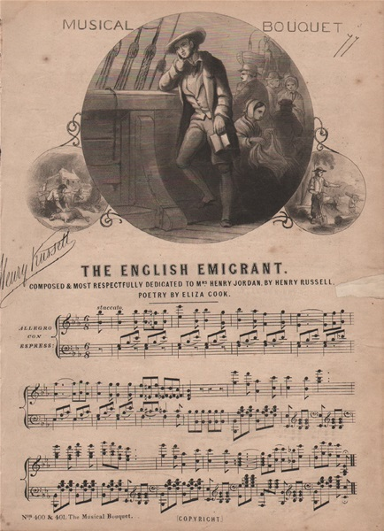 The English Emigrant - ballad