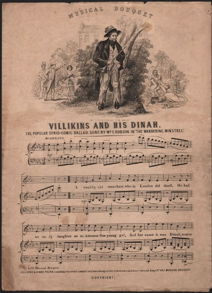 Villikins and his Dinah - serio-comic ballad