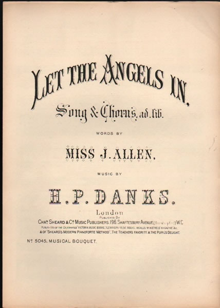 Let the Angels in - song & chorus