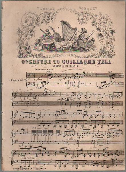 Overture to Guillaume Tell