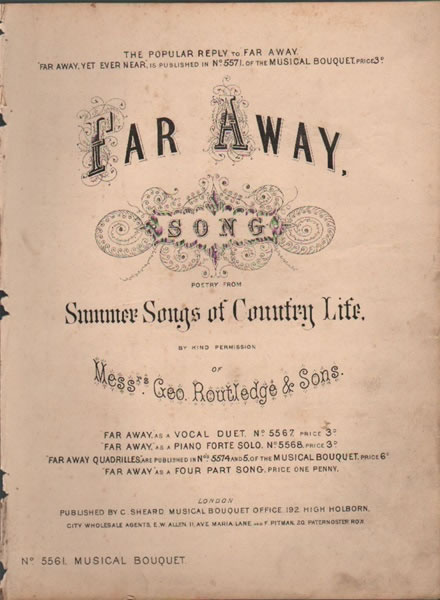 Far Away - song