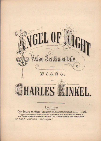 Angel of Night - valse sentimentale - piano