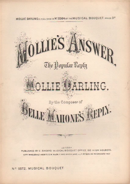 Mollie's Answer - song & chorus