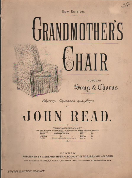 Grandmother's Chair - song & chorus