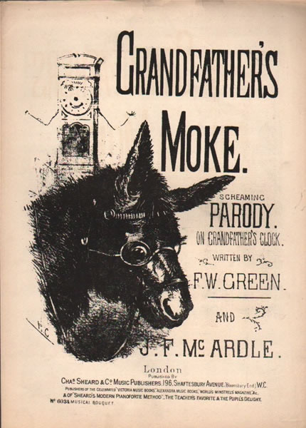 Grandfather's Moke - vocal parody with chorus