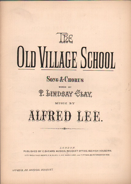 The Old Village School - song & chorus