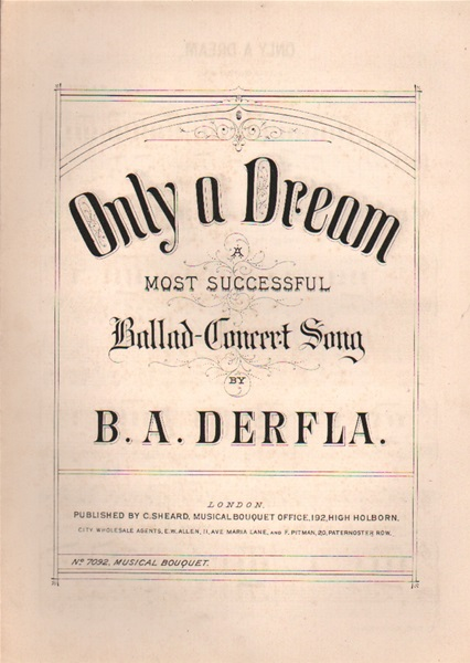 Only a Dream - Ballad concert song