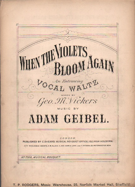 When the Violets Bloom again - Vocal Waltz