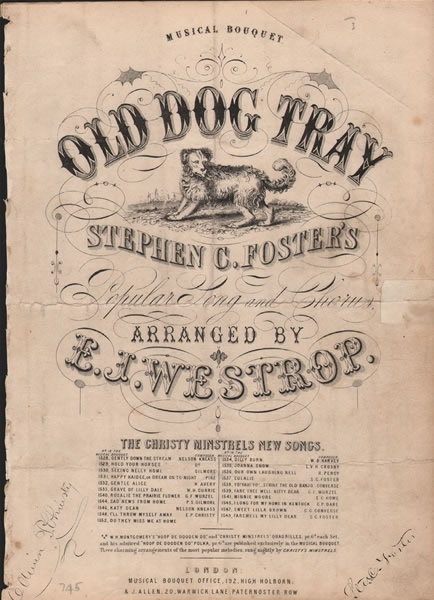 Old Dog Tray - song and chorus
