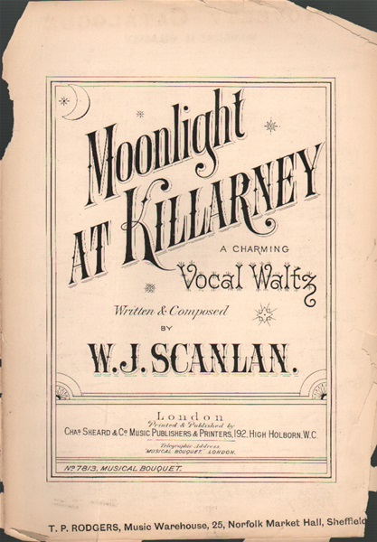 Moonlight at Killarney - vocal waltz