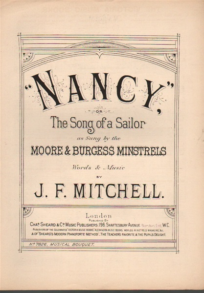 Nancy or The Song of a Sailor -