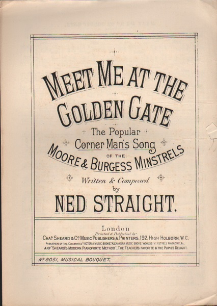 Meet me at the Golden Gate - Corner song & chorus