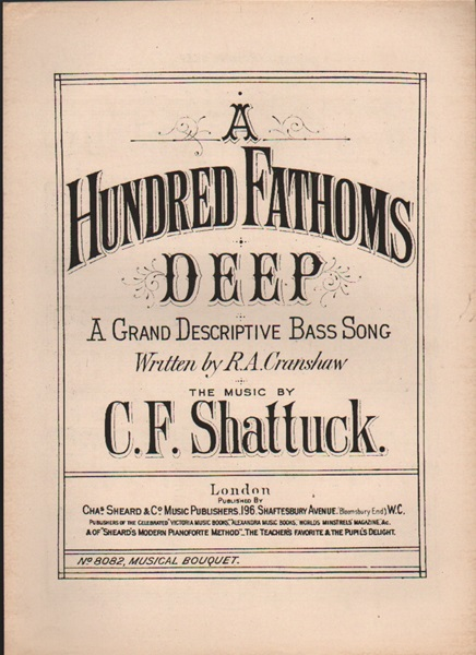A Hundred Fathoms Deep - Bass song
