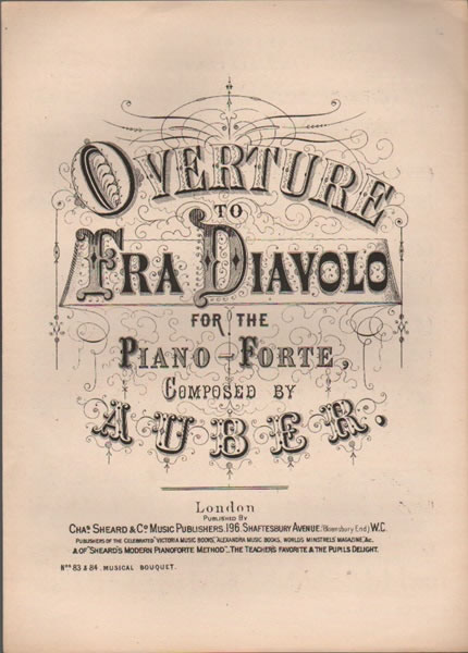 Overture to 'Fra Diavolo'