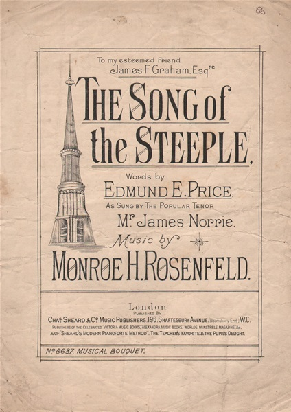 The Song of the Steeple - song