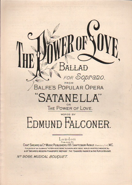 The Power of Love - Ballad from 'Satanella'