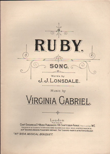 Ruby - song