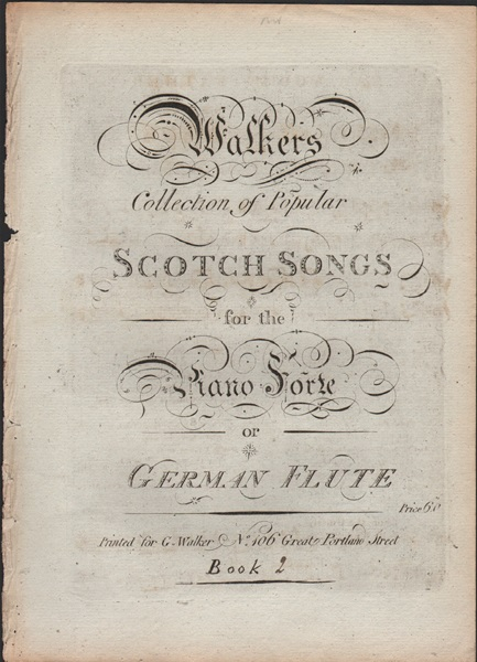 Collection of Scotch songs - pf.