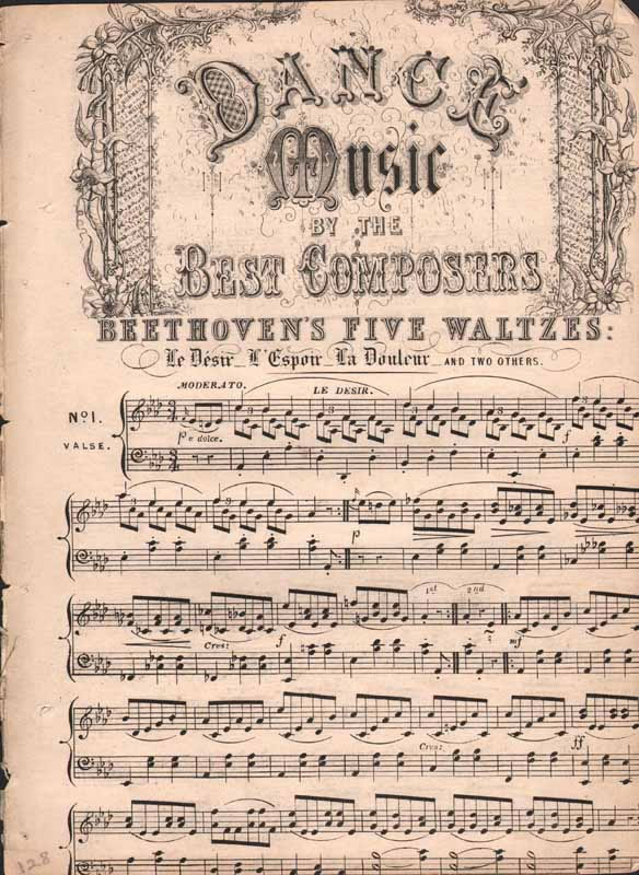Beethoven's Five Waltzes