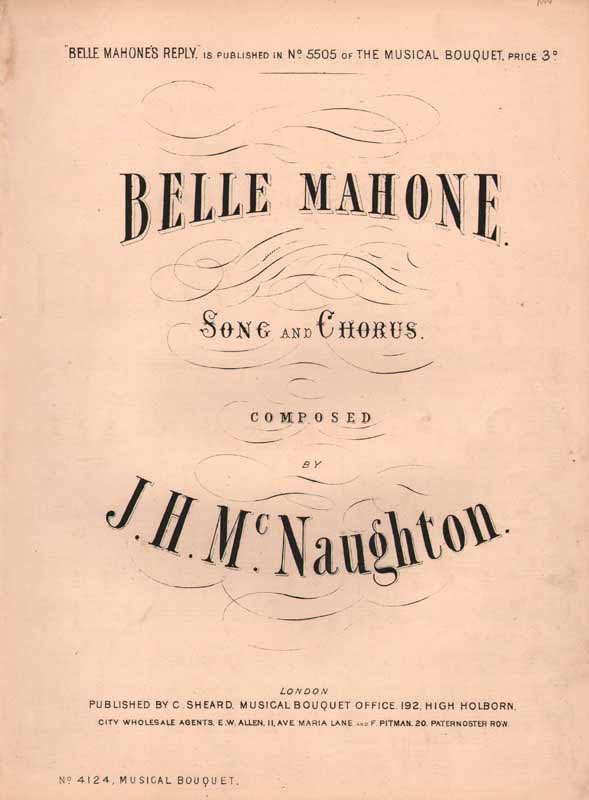 Belle Mahone