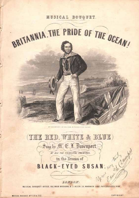 Brittania the Pride of the Ocean !(Red,white and[Nz]