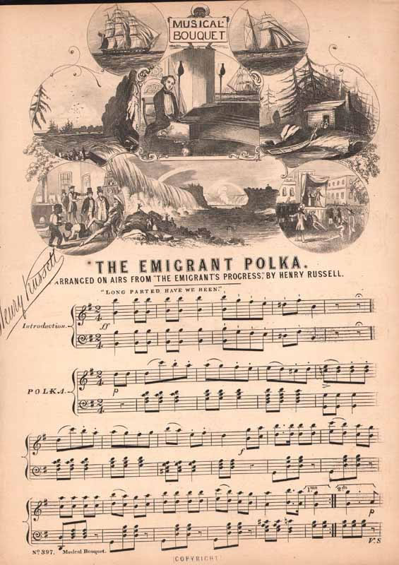 Cheer, Boys, Cheer! Polka  (The Emigrant's polka)