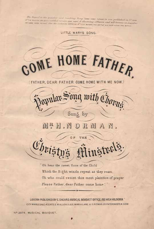 Come Home, Father  (Little Mary's Song)