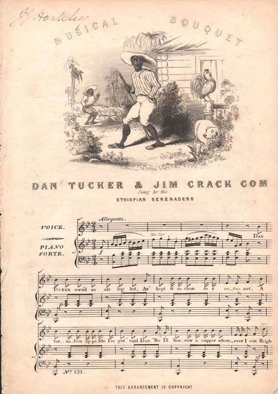 Dan Tucker  &  Jim Crack Corn