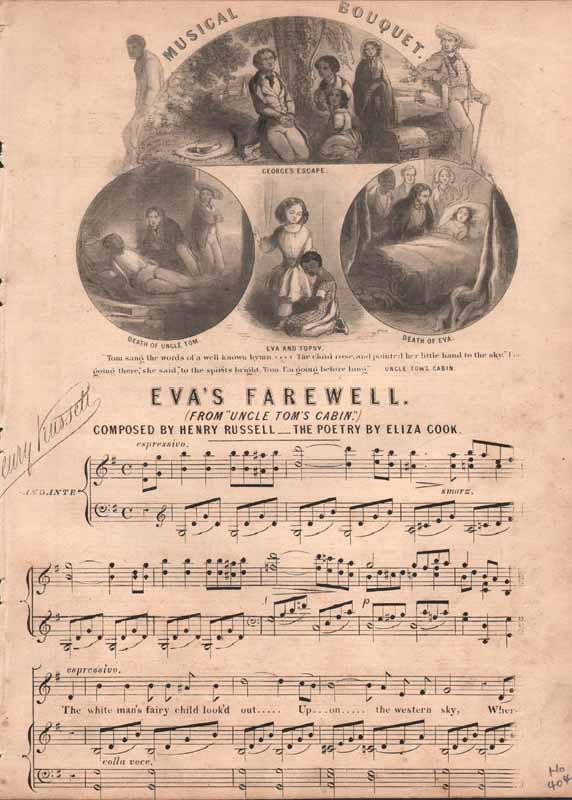 Eva's Farewell   from 'Uncle Tom's Cabin'