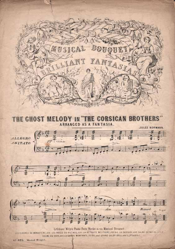 Fantasia on the Ghost melody 'The Corsican Brothers