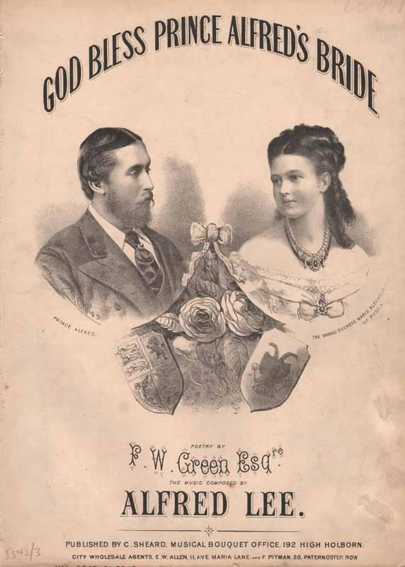 God Bless Prince Alfred's Bride