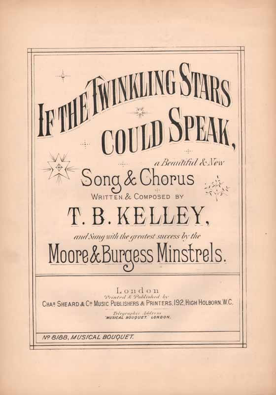 If the Twinkling Stars Could Speak