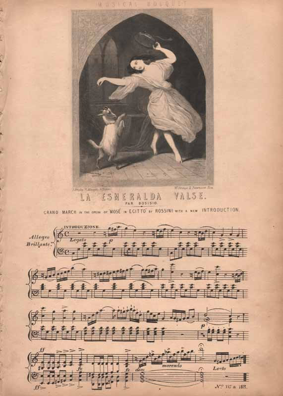 L'Esmeralda Valse & Grand March    'Mose in Egitto'