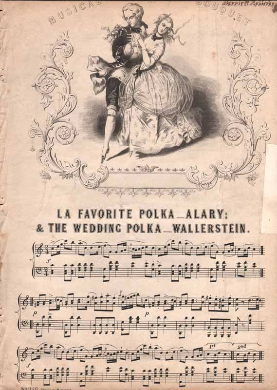 a.La Favorite Polka  b.The Wedding Polka